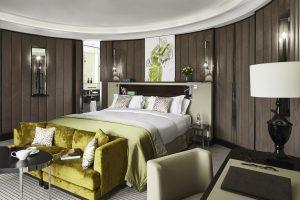 Luxuriöse Suite des Sofitels im Opernplatz 14 in Frankfurt betreuut durch Frankfurt