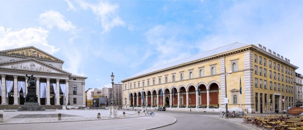 Palais an der Oper München verwaltet von Clarus Landmark Properties